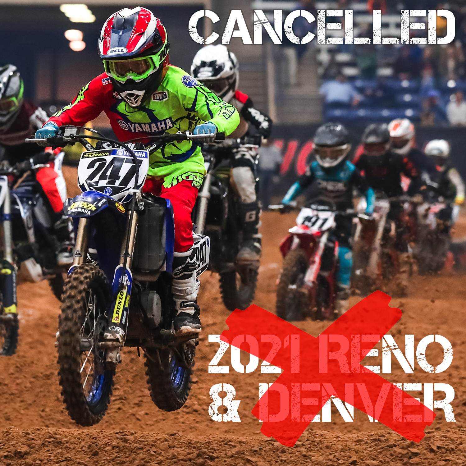 """Featured image for """"CANCELLED: 2021 DENVER & RENO RACES"""""""